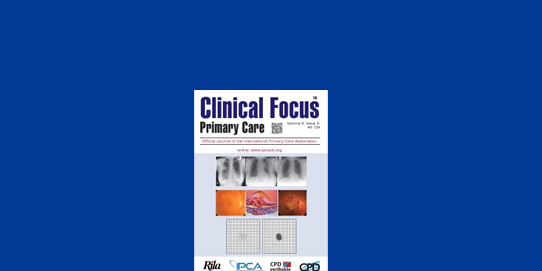 <strong>CLINICAL FOCUS</strong> PRIMARY CARE